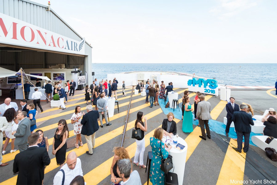 Monaco Yacht Show 2018. © Photo by imagIN
