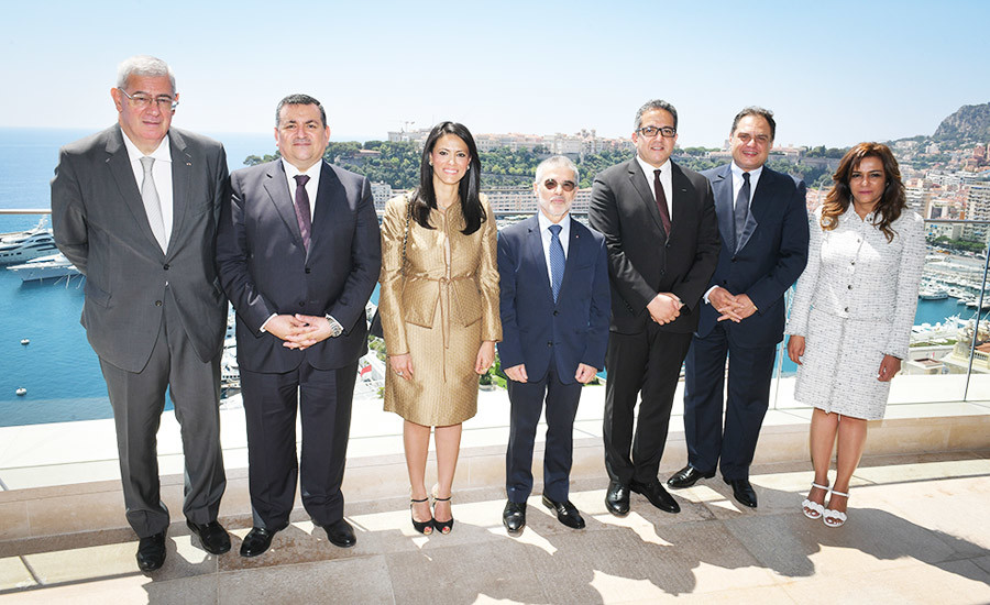Egypt delegation from Ministry of Antiquities