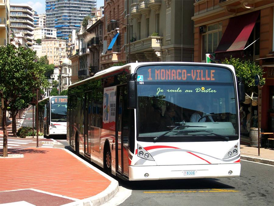 Monaco buses