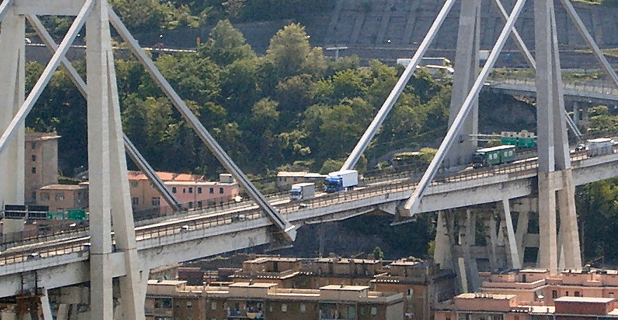 Morandi Bridge. (Pic: Commons Wikimedia)
