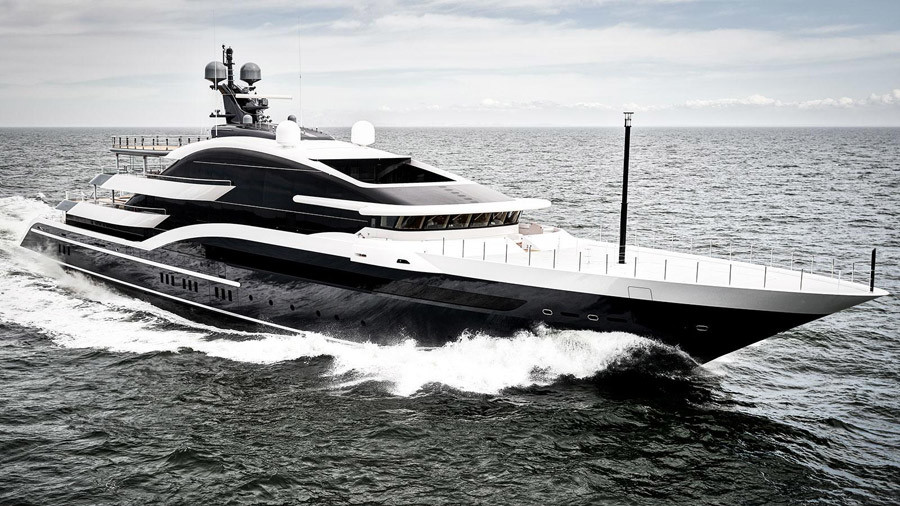 DAR superyacht