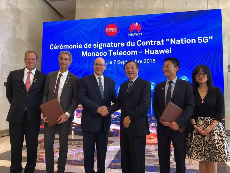 MC Telecom and Huawei sign 5g deal