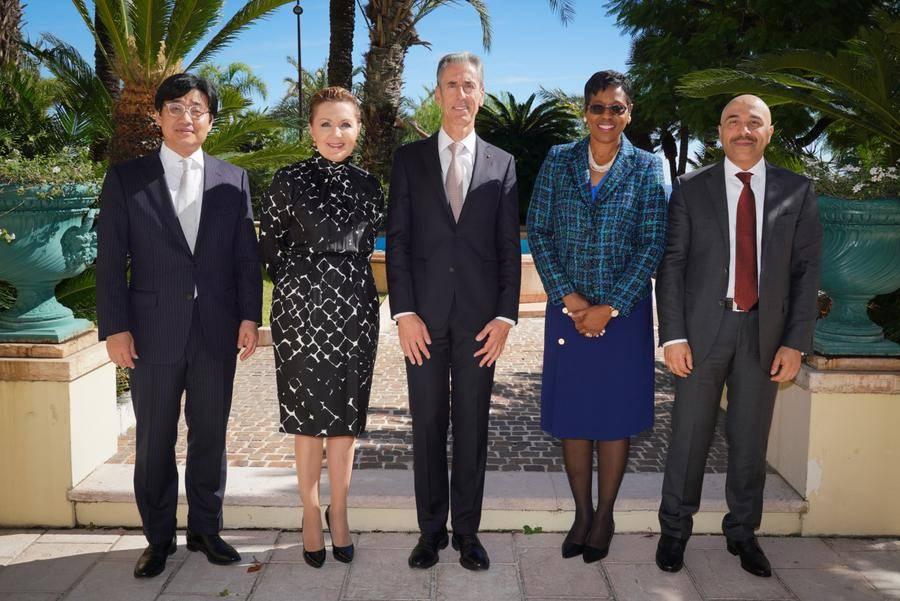 Accréditations Ambassadeurs 2018 - Diplomatie – Accréditations Grèce - Koweït - Jamaïque - Corée