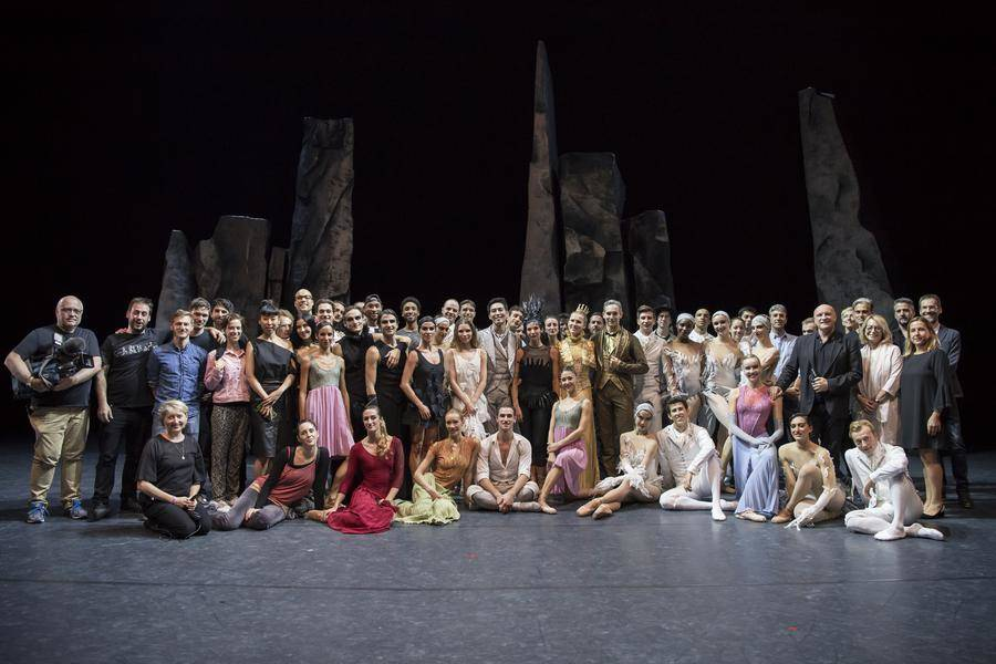 Cervantino Festival - The Monte Carlo Ballet Company and members of the DTC during the trip to Mexico © Alice Blangero