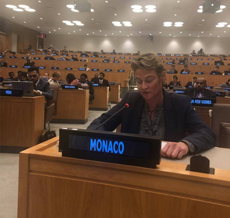 Clotilde Ferry, Counselor at the Permanent Mission of Monaco to the United Nations © DR