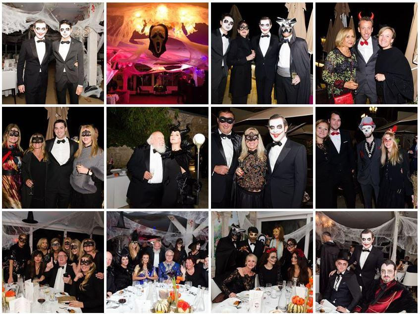 Club Vivanova maskeed Hallween ball