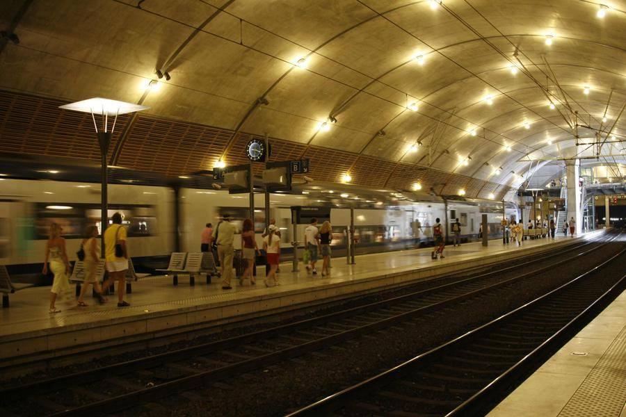 SNCF station Monaco - Monaco station SNCF © Charly Gallo Directorate of Communication