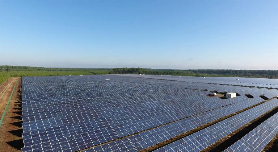 Photovoltaic Park © DR