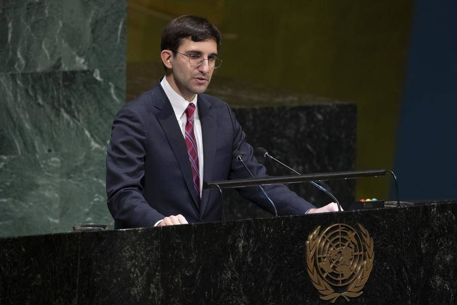 Florian Botto, Second Secretary at the Permanent Mission of Monaco to the UN in New York © DR