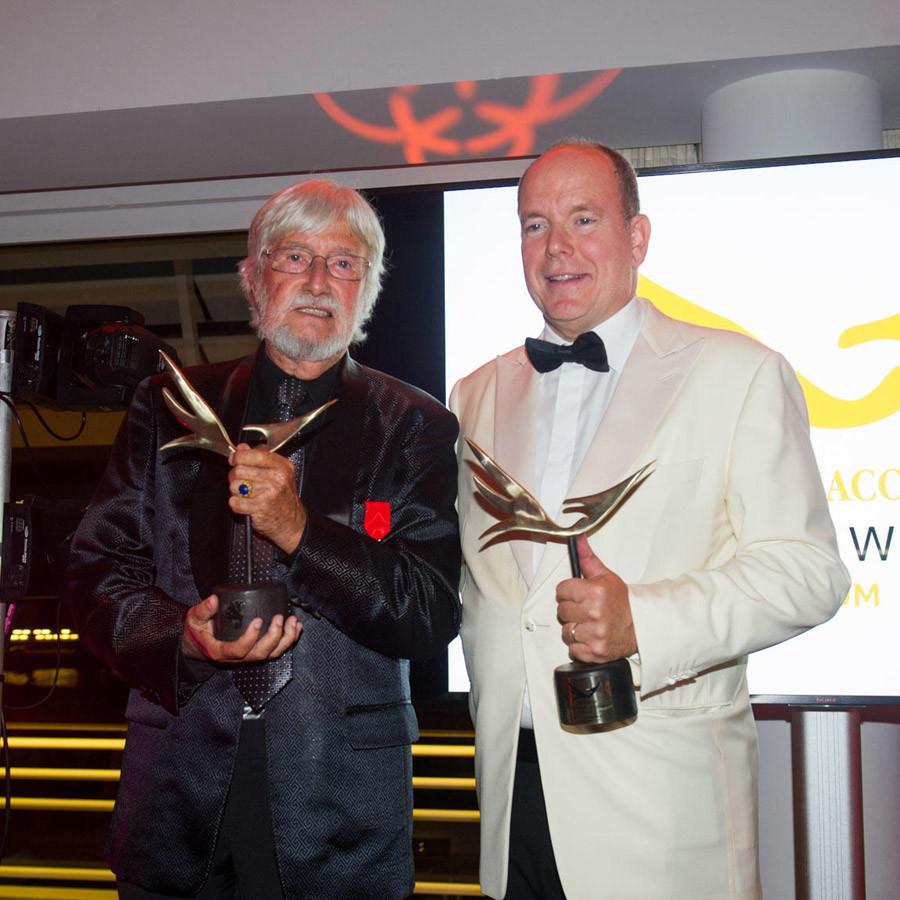 The Better World Forum - HSH Prince Albert II receives award