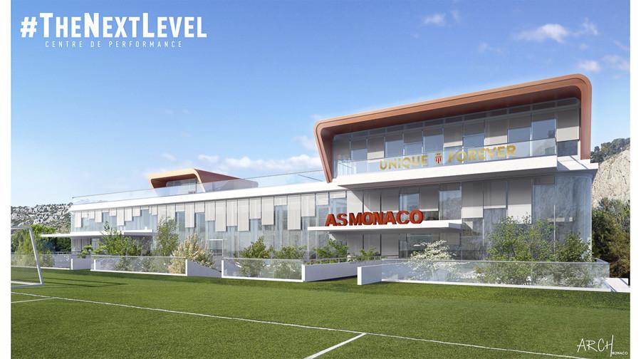 AS Monaco Center for Sporting Excellence artistic design