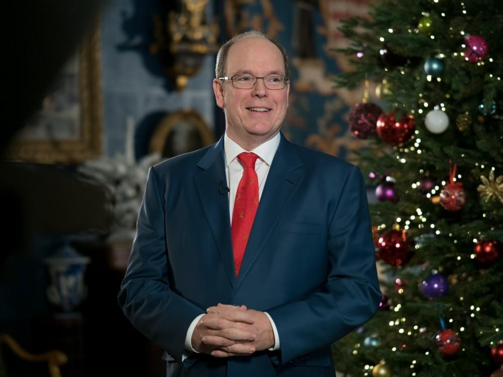 His Serene Highness Prince Albert II - New Year 2019