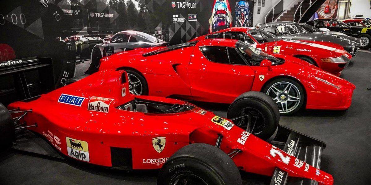 Ferrari exhibition cars