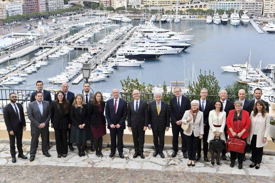 EU delegation visit - © Directorate of Communication / Manuel Vitali