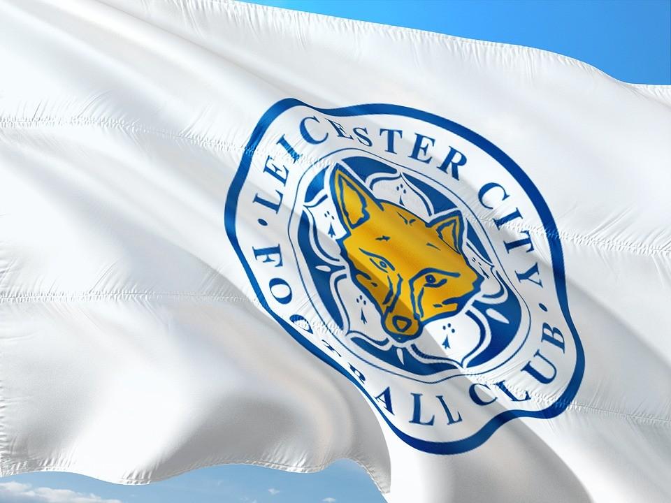 Leicester City football club flag