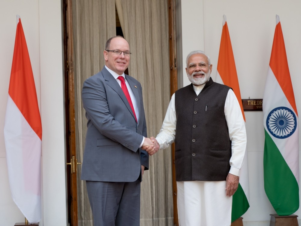 Official visit of HSH Prince to India