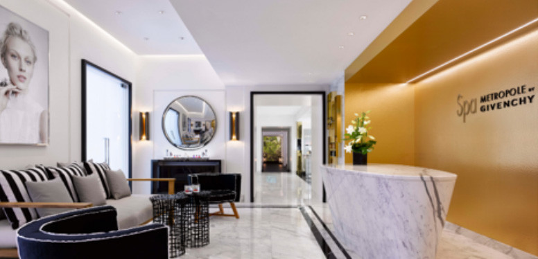 Spa Metropole de Givenchy - reception