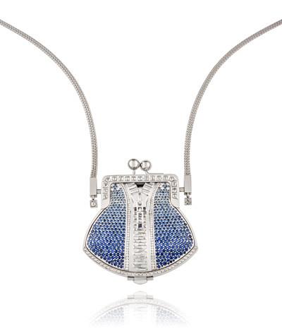 Photo: Bykovs' Jewellery Unzip Me Necklace (4.23ct white diamonds and 10.68ct sapphires)