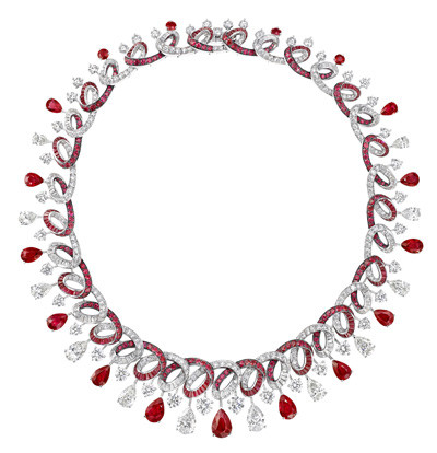 Photo: Graff Ruby and Diamond Necklace (Rubies 49.21 carats, Diamonds 46.24 carats)