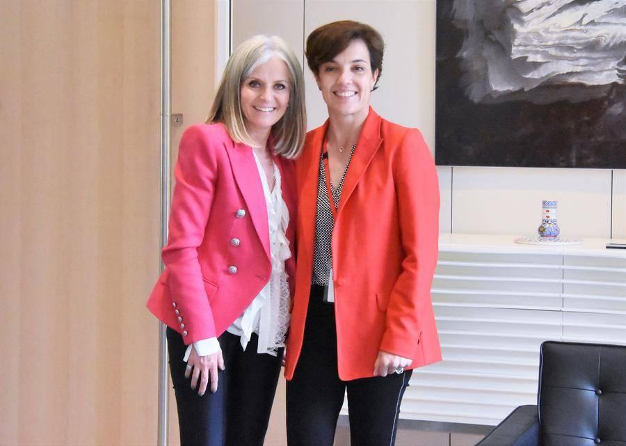 Céline Cottalorda and Ambassador of Canada to Monaco - © DR