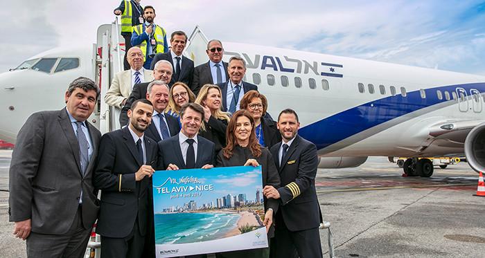 El Al arrives in Monaco