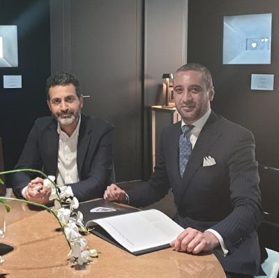 Photo: Oded Mansori and Antonio Cecere