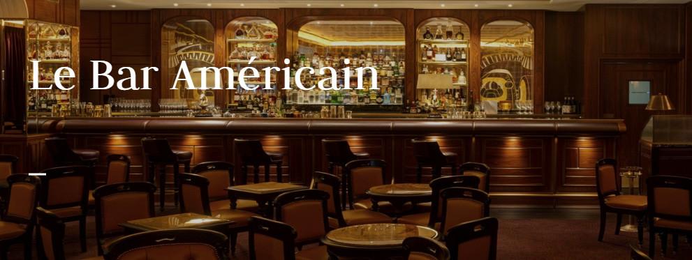 Bar Ammerican at Hotel de Paris, Monte-Carlo