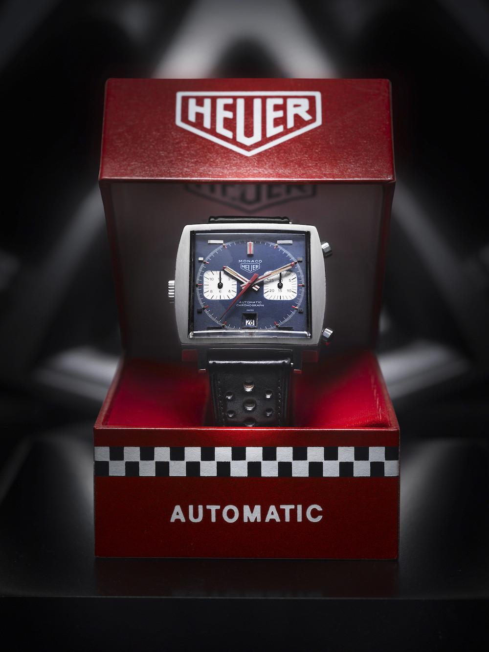 Tag Heuer Monaco watch design