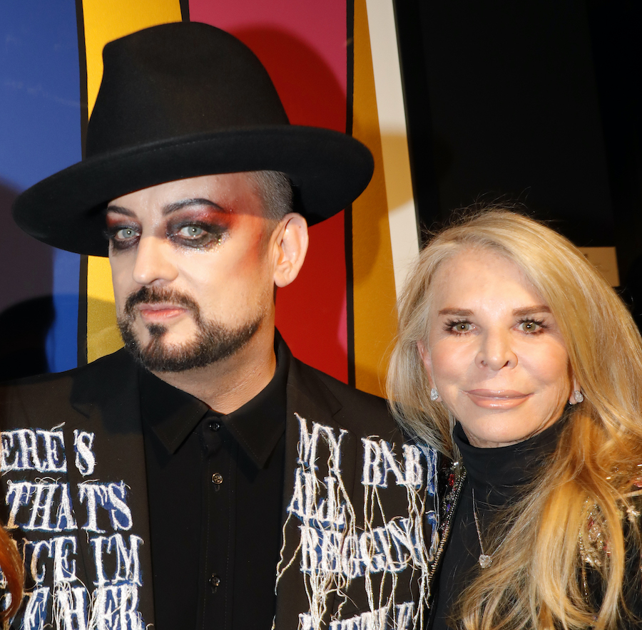 Boy George and Tina Green
